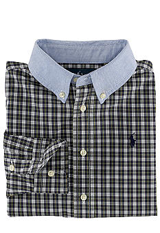 Ralph Lauren Childrenswear Oxford Blake Button-Down Shirt Toddler Boys