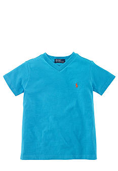 Ralph Lauren Childrenswear V-Neck Tee Toddler Boy