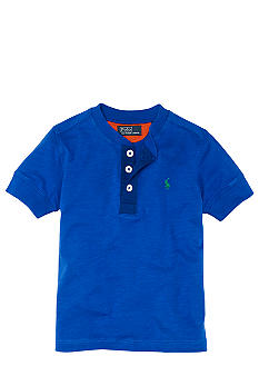 Ralph Lauren Childrenswear Short-Sleeved Henley Toddler Boy