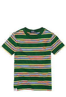 Ralph Lauren Childrenswear Striped Preppy Tee Toddler Boy