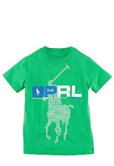 Ralph Lauren Childrenswear Large Pony PRL Active Tee Toddler Boy