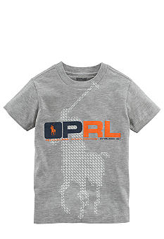 Ralph Lauren Childrenswear Sporty Screen Print Tee Toddler Boy