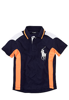 Ralph Lauren Childrenswear Soft-Touch Active Polo Toddler Boy