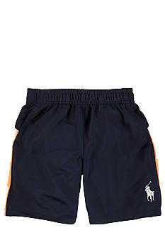 Ralph Lauren Childrenswear Navy Ultra-Soft Short Toddler Boy