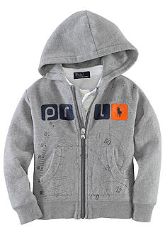 Ralph Lauren Childrenswear Full-Zip Hoodie Toddler Boy