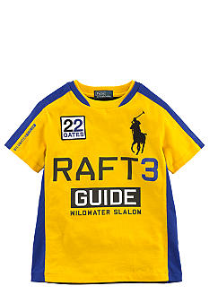 Ralph Lauren Childrenswear Yellow Wild River Tee Toddler Boy