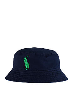 Ralph Lauren Childrenswear Reversible Bucket Hat Toddler Boy