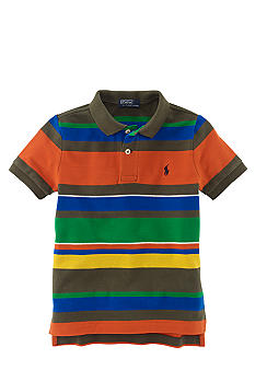 Ralph Lauren Childrenswear Multi Stripe Polo Toddler Boy