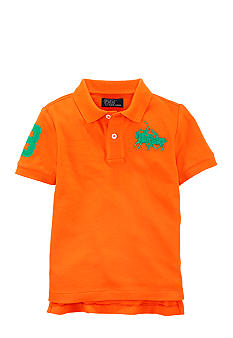 Ralph Lauren Childrenswear Dual Match Embroidered Polo Toddler Boy