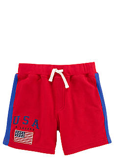 Ralph Lauren Childrenswear Americana Mesh Short Toddler Boy