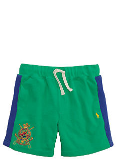 Ralph Lauren Childrenswear Crest Embroidered Mesh Short Toddler Boy