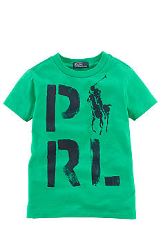 Ralph Lauren Childrenswear PRL Screenprint Tee Toddler Boy