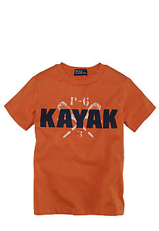 Ralph Lauren Childrenswear Kayak Screen Print Tee Toddler Boy