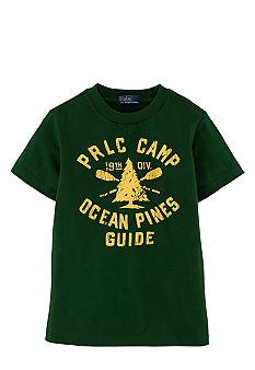 Ralph Lauren Childrenswear Camp Tee Toddler Boy