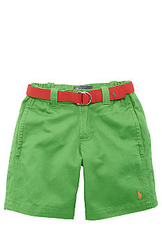 Ralph Lauren Childrenswear Vintage Varsity Chino Short Toddler Boy