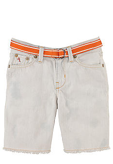 Ralph Lauren Childrenswear Denim Cutoff Short Toddler Boy