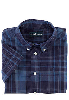 Ralph Lauren Childrenswear Blake Madras Shirt Toddler Boys