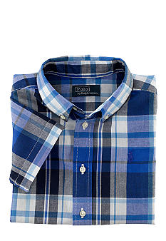 Ralph Lauren Childrenswear Madras Blake Plaid Shirt Toddler Boys