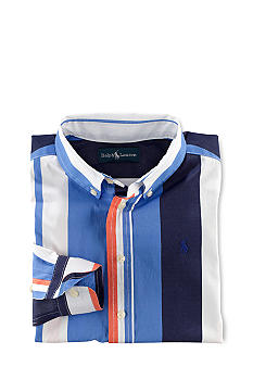 Ralph Lauren Childrenswear Striped Blake Sport Shirt Toddler Boys
