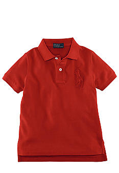 Ralph Lauren Childrenswear Tonal Embroidered Pony Polo Toddler Boy