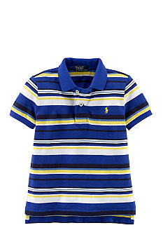 Ralph Lauren Childrenswear Vibrant Stripe Essential Polo Toddler Boys
