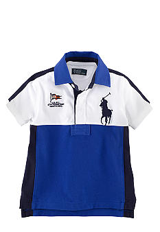 Ralph Lauren Childrenswear Colorblock Classic Polo Toddler Boys