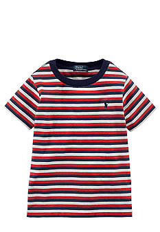 Ralph Lauren Childrenswear Horizontal Stripe Tee Toddler Boys