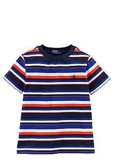 Ralph Lauren Childrenswear Contrasting Stripes Tee Toddler Boys