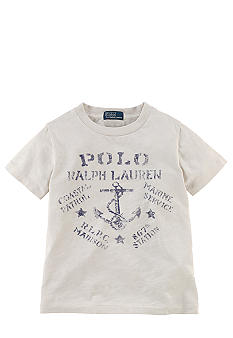 Ralph Lauren Childrenswear Anchor Graphic Tee Toddler Boy