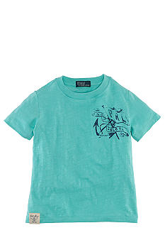 Ralph Lauren Childrenswear Marine Graphics Tee Toddler Boy