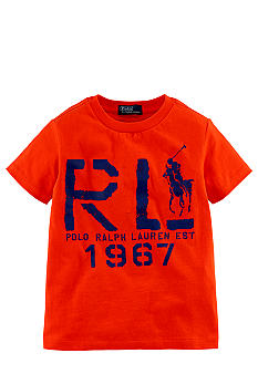 Ralph Lauren Childrenswear RL Graphic Tee Toddler Boys