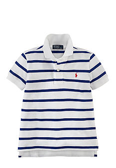 Ralph Lauren Childrenswear Thin Stripe Polo Toddler Boys