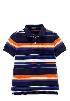 Ralph Lauren Childrenswear Preppy Striped Polo Toddler Boys