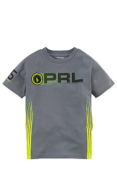 Ralph Lauren Childrenswear Active PRL Tee Toddler Boy