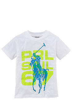 Ralph Lauren Childrenswear Graphic PRL Active Tee Toddler Boy