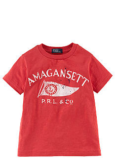 Ralph Lauren Childrenswear Screenprint Vintage Tee Toddler Boys