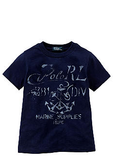 Ralph Lauren Childrenswear Anchor Graphic Tee Toddler Boys