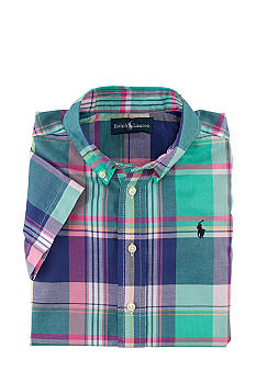 Ralph Lauren Childrenswear Blake Madras Shirt Toddler Boy