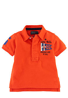 Ralph Lauren Childrenswear Coastal Patrol Graphic Polo Toddler Boys
