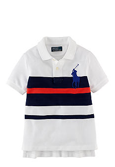 Ralph Lauren Childrenswear Bold Stripe Polo Toddler Boys