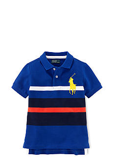 Ralph Lauren Childrenswear Bold Striped Polo Toddler Boys