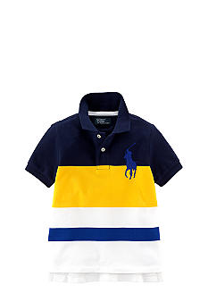 Ralph Lauren Childrenswear Classic Fit Striped Polo Toddler Boys