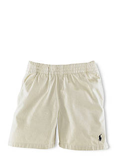 Ralph Lauren Childrenswear Cotton Twill Shorts Toddler Boys