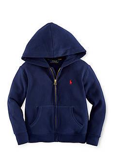 Ralph Lauren Childrenswear Long Sleeve Full-Zip Hoodie Toddler Boys