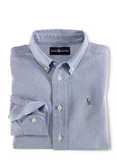 Ralph Lauren Childrenswear Button Front Sport Shirt Toddler Boys