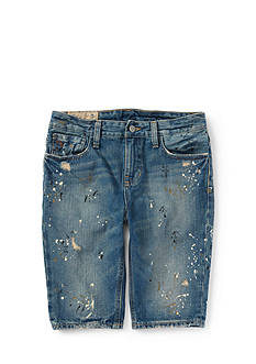 Ralph Lauren Childrenswear Distressed Jean Shorts Toddler Boys