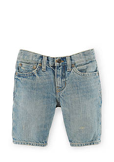 Ralph Lauren Childrenswear Andre Wash Denim Shorts Toddler Boys