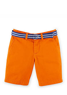 Ralph Lauren Childrenswear Belted Chino Shorts Toddler Boys