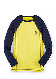 Ralph Lauren Childrenswear Colorblock Rash Guard Toddler Boys