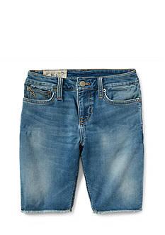 Ralph Lauren Childrenswear Faded Jean Shorts Toddler Boys